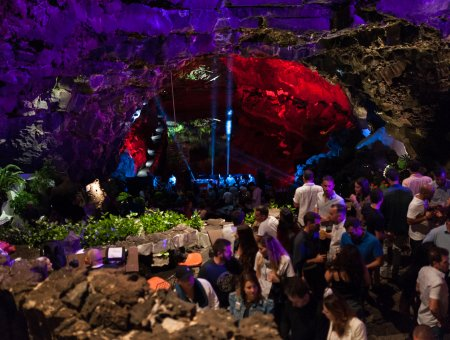 Magical Night at Jameos Music Festival 2017 in Lanzarote