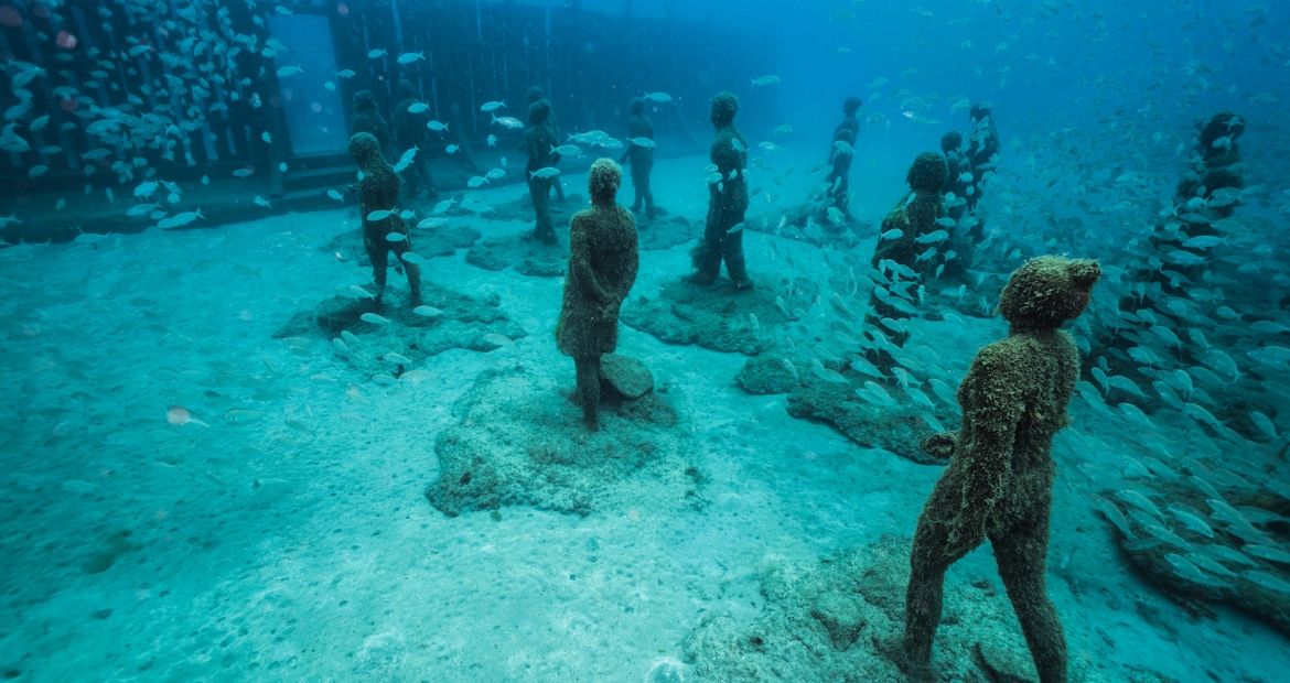 Museo Atlántico by Jason deCaires