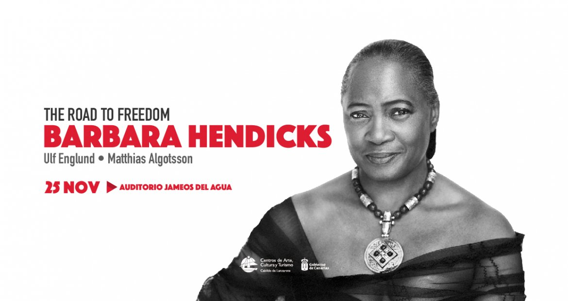 Barbara Hendricks in concert at Jameos del Agua